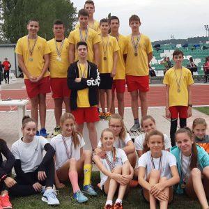 Atlétika ügyességi csapatbajnokság Szekszárd