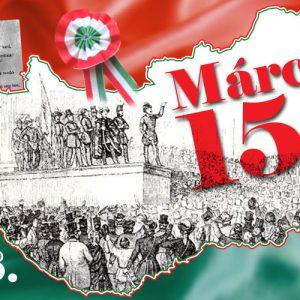 Megemlékezés 1848. március 15-re